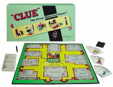 Original Clue Board Game